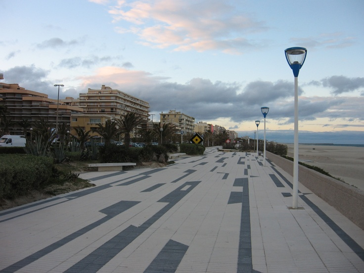 """Canet-Plage, France - this photo brings back the memories, a """"Club 18-30"""" holiday - remember them?"""
