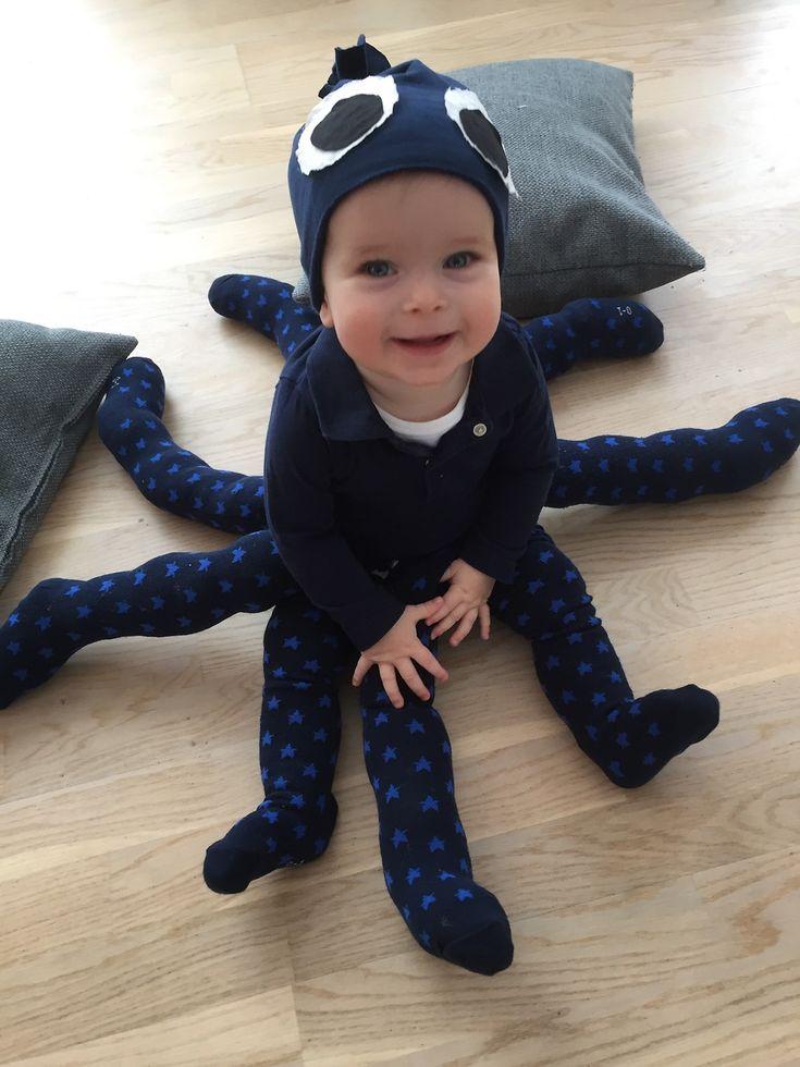 Blæksprutte kostume udklædning fastelavn
