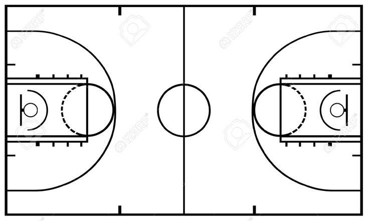Resultado de imagen para cancha de baloncesto