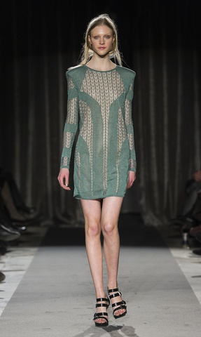 Perfect day and night dress. Elah green lace dress by DAGMAR