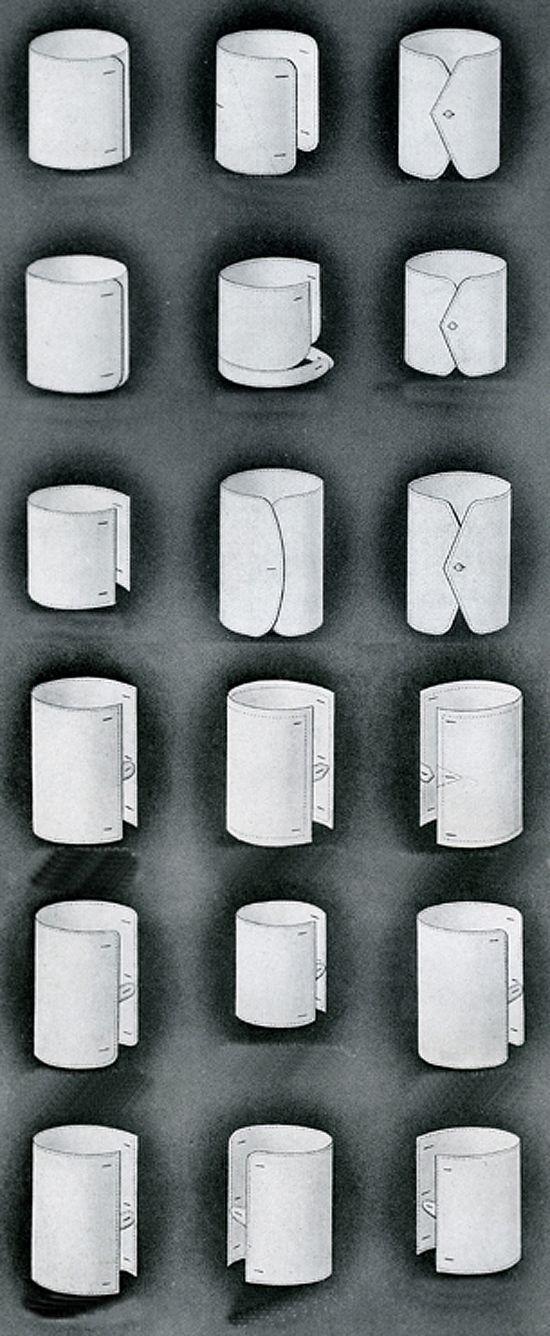 types of shirt cuffs