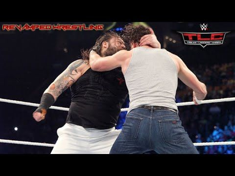 WWE TLC Tables Ladders & Chairs 2014 Bray Wyatt vs Dean Ambrose - WWE TLC Decemb...