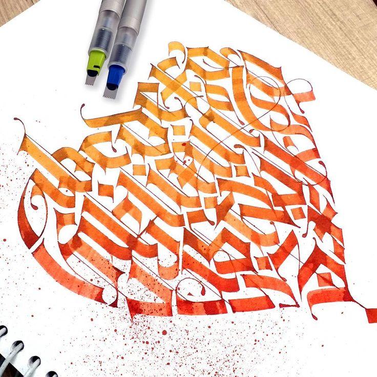 Alphabets design....How is it....✌ Follow me @lalit.mourya207 #lalitmourya207 #calligraphymasters #typegang #handmadefont #goodtype #thedailytype #tattoodesign #pillotparallelpen