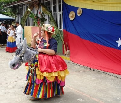tradiciones de venezuela - La Burriquita