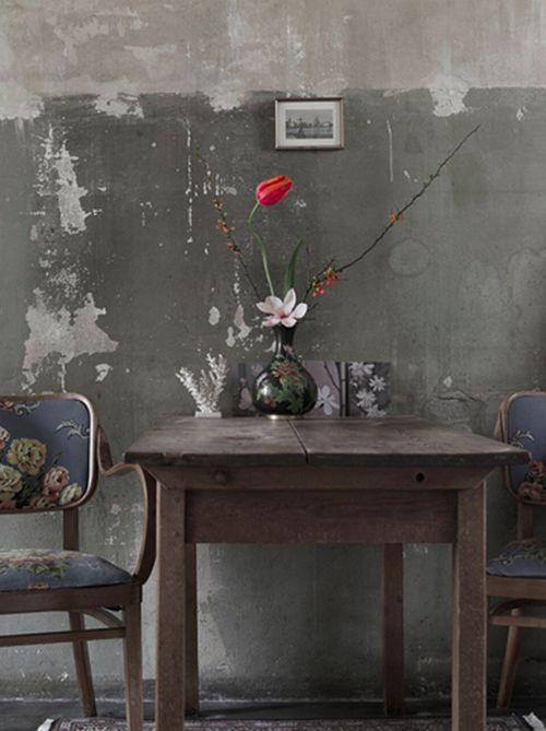 This Ivy House - notablegem: beautiful decay- peeling walls,...