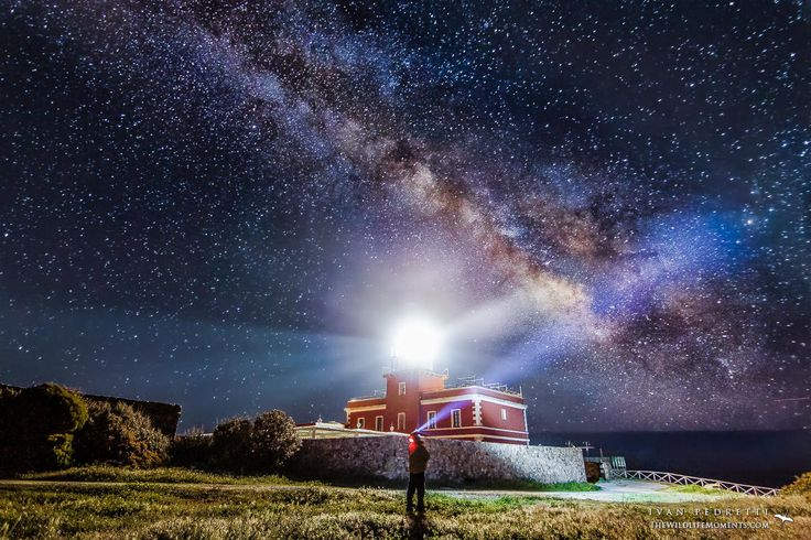 lighthouse under the milky way by Ivan Pedretti  on 500px