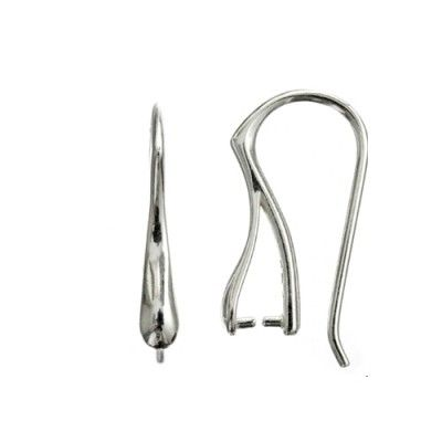 Open ear wires - BO17  Dimensions: 20,5x12mm Weight ~ 1.20g ( 1 pair ) Metal : sterling silver ( AG-925)  1 package = 1 pair
