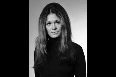 Gloria Steinem - Feminist and Editor: Gloria Steinem, 1975
