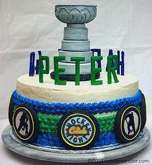 Хоккей Торт ко дню рождения