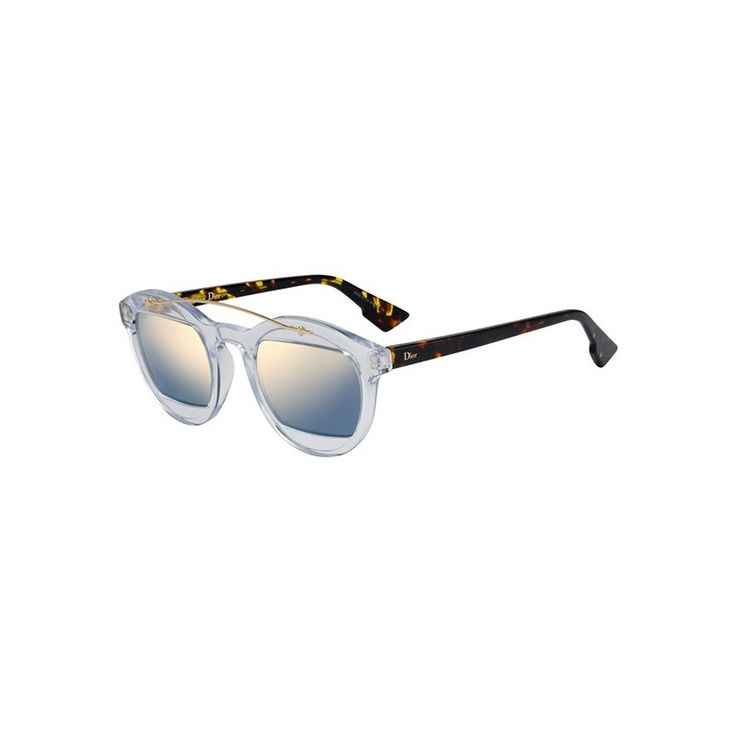 Gafas de Sol DIOR MANIA 1 Crystal dark havana - Gold. Envío Gratis