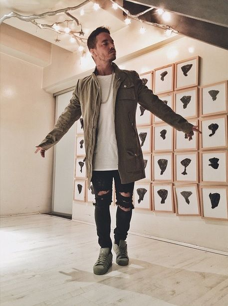MINIMAL PARIS SS2015 ONLINE NOW !@jbalvin rocking Minimal Paris Military Jacket !