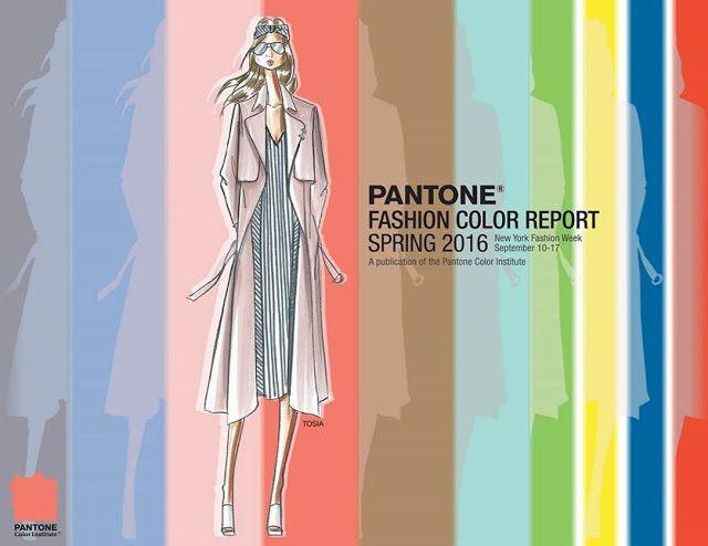 Pantone Fashion Color Report Spring 2016: Presentación - Confesiones de una volátil