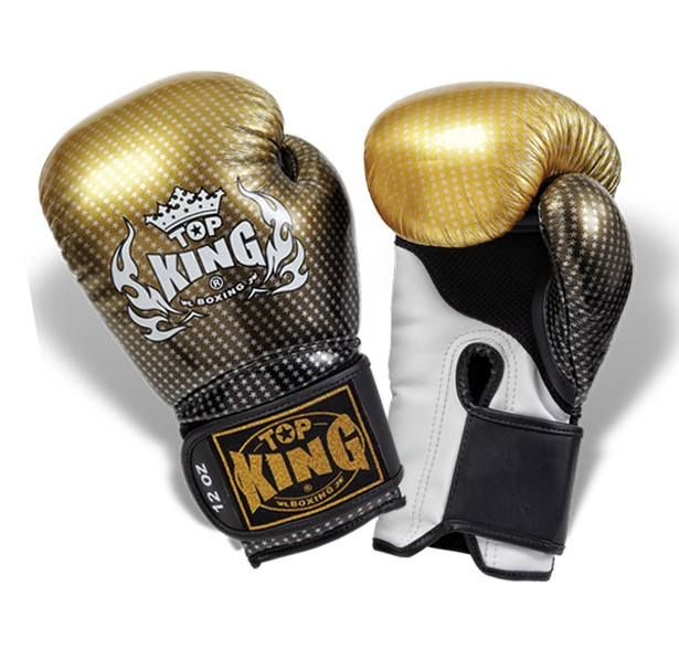 """Top King Gold Boxing Gloves """"Super Star"""" available from http://www.topking.eu"""