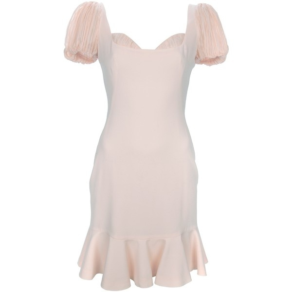 ALEXANDER MCQUEEN ruffle sleeve dress