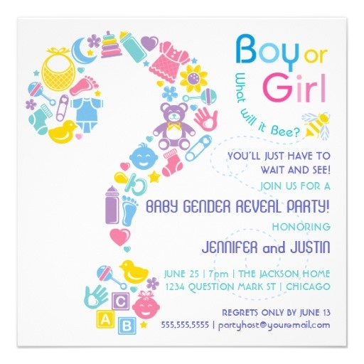 120 best images about Gender Reveal Ideas – Baby Gender Reveal Party Invitation Wording