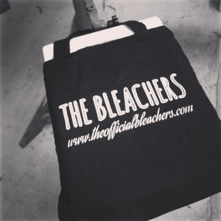 THE BLEACHERS tote bags. Free with every purchase.