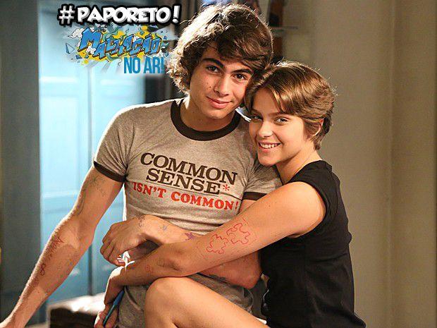 #PrimeiraVezPerina: mande perguntas para Isabella Santoni e Rafael Vitti