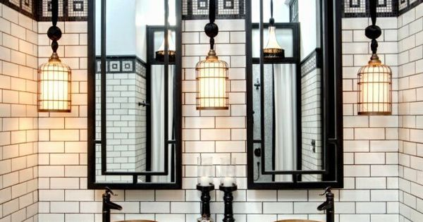 Liked on Pinterest: 40 wonderful pictures and ideas of 1920s bathroom tile designs
