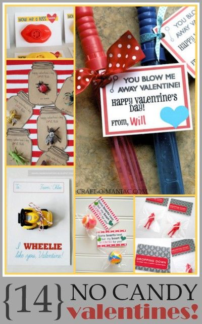 {14} No Candy Valentines #valentines #valentinecards: No Candy Valentines Ideas, Valentines Valentinecard, Classroom Valentines Treats, Valentines Ideas Non Candy, Bubbles Valentines, Non Candy Valentines, Valentines Ideas Classroom, Holidays Valentines, Candy Valentine'S