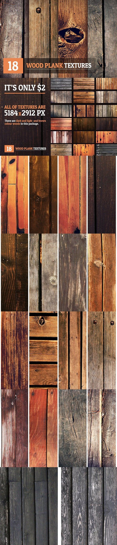 18 Wood Plank Textures. Best Textures