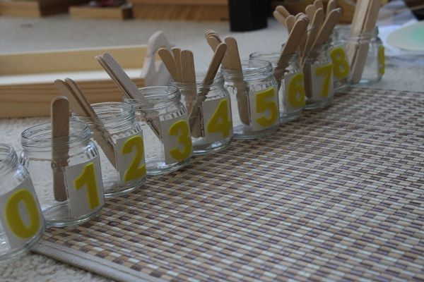 This blog entry shows a whole week's worth of Montessori activities for 2-4 yo's; lots of photos, light on description. Must explore blog further, as there seems to be loads of ideas.