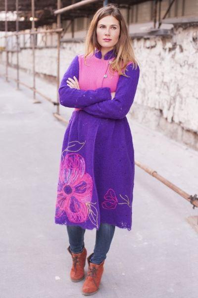 Yaga handmade coat