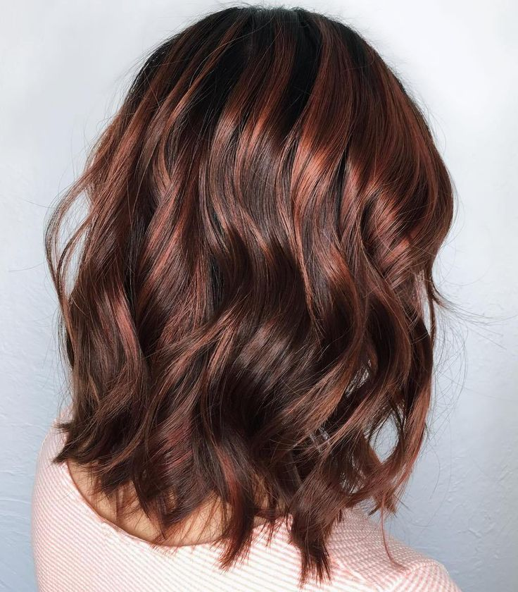 25 best ideas about chocolate cherry hair on pinterest