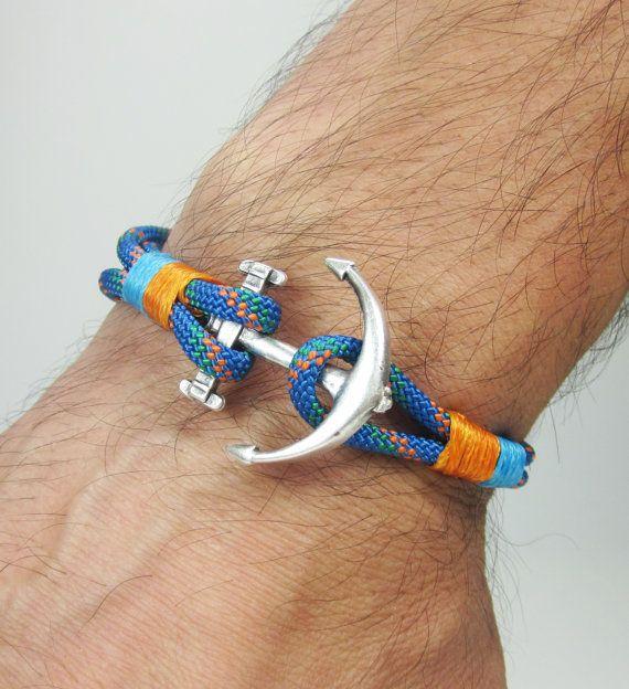 Natural Anchor bracelet. Men's Bracelet