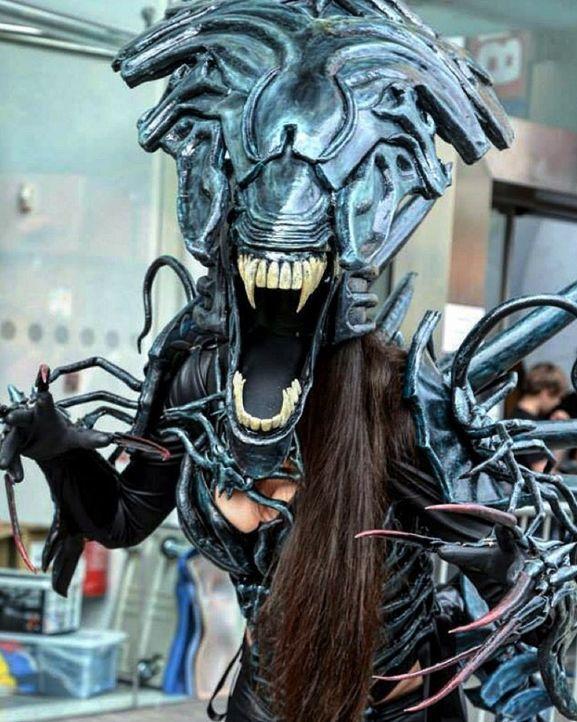 14 best xenomorph images on Pinterest Alien queen, Alien vs - best of alien queen coloring pages