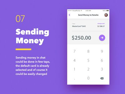 Fino Finance Messenger — Send Money