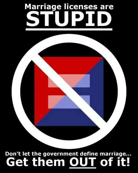 Marriage is a RIGHT, not a privilege.