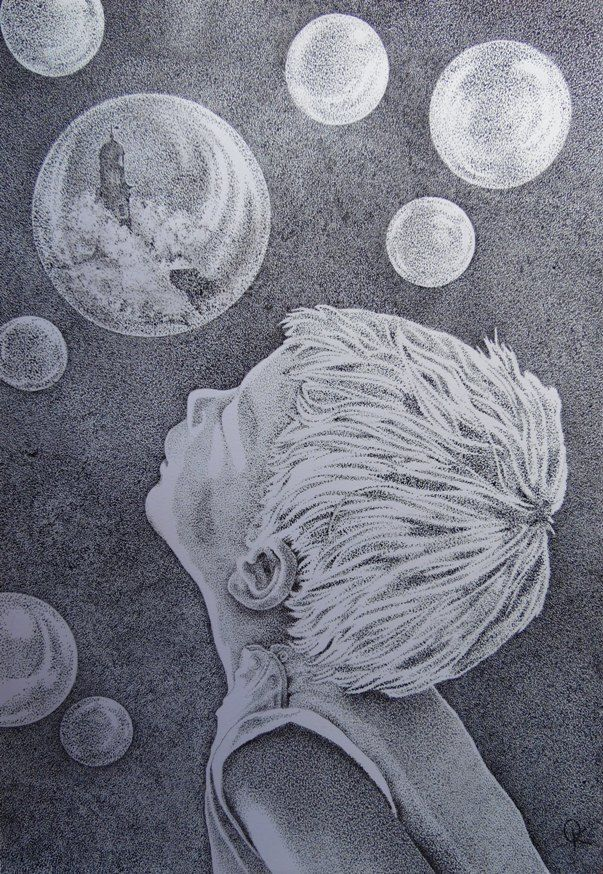 Olga KOSTENKO - Bubbles - Artists & Illustrators - Original art for sale direct from the artist