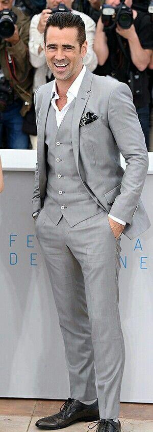 2015 Cannes Film Festival Colin Farrell in Dolce & Gabbana
