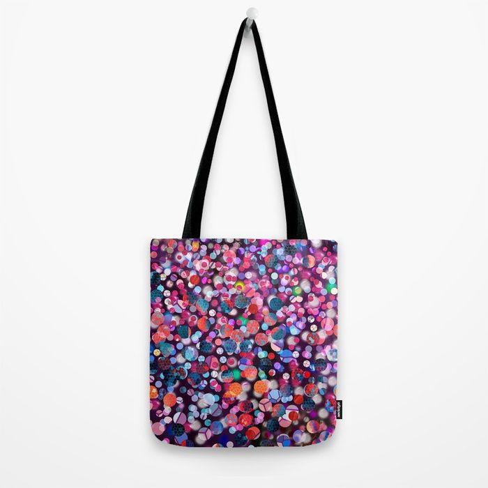 Bright Polka Dot(9) Tote Bag