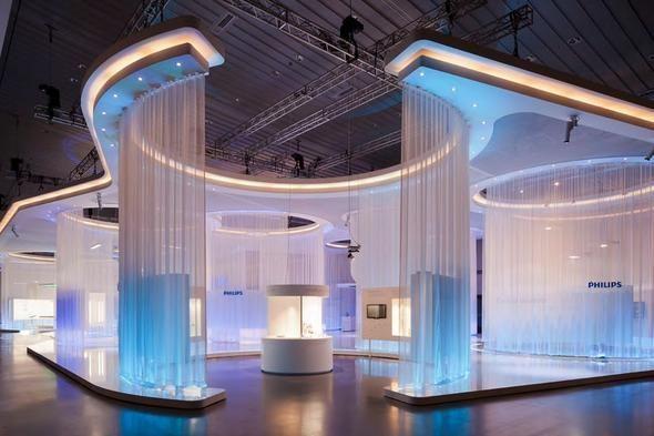 Exhibition Stand Build Up : D art design auf der light building für philips messen