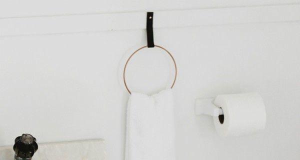 Wij zijn altijd opzoek naar doe-het-zelf projecten, zoals deze mooie handdoek ringen die je heel makkelijk zelf kunt maken.