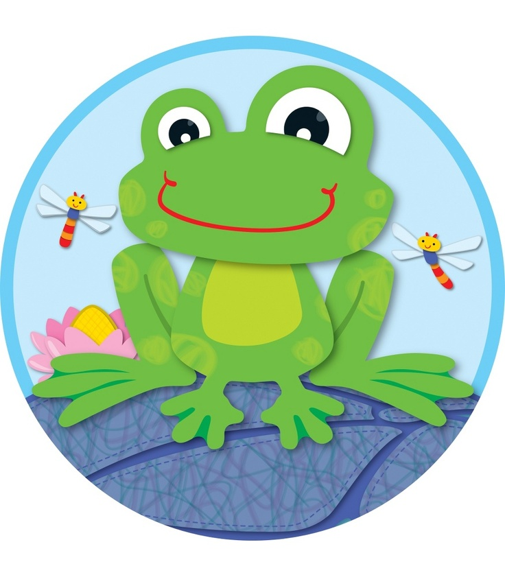 FUNky Frog Two-Sided Decoration | Classroom décor from Carson-Dellosa