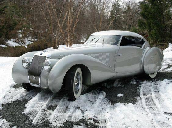 1937 Delage D8-120S Aero Coupe (Pourtout)