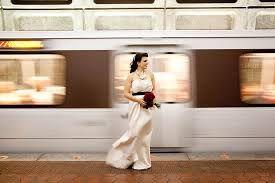 bride in metro - Google Search