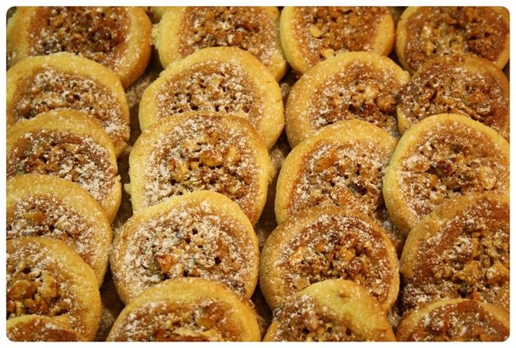 Medová hnízda s ořechy