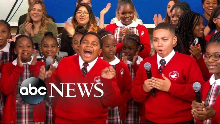 Middle school choir whose 'Rise Up' performance went viral gets surprise...