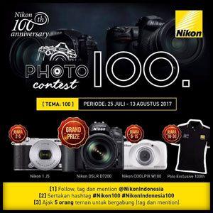 #Lomba #Foto #Nikon #Anniversary #100th #NikonIndonesia #PhotoContest NIKON 100th Anniversary 2017 Photo Contest Berhadiah Kamera DSLR  DEADLINE: 13 Agustus 2017  http://infosayembara.com/info-lomba.php?judul=nikon-100th-anniversary-2017-photo-contest-berhadiah-kamera-dslr