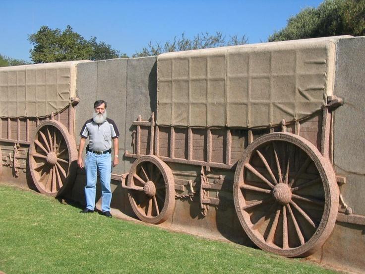 The memorial in Pretoria