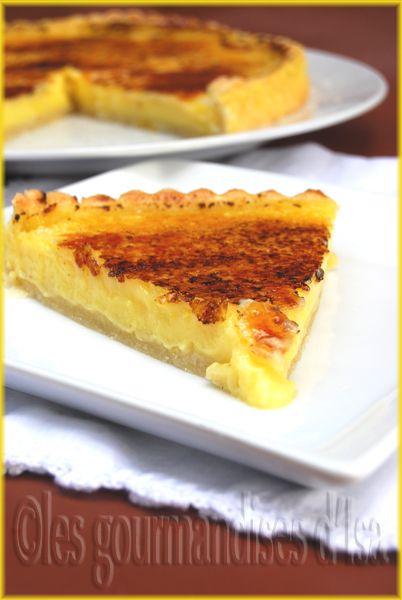 Creme brulee pie with lemon | Dessert | Pinterest