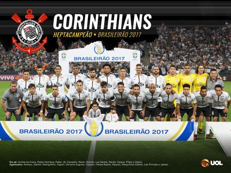 Corinthians campeão do Campeonato Brasileiro 2017