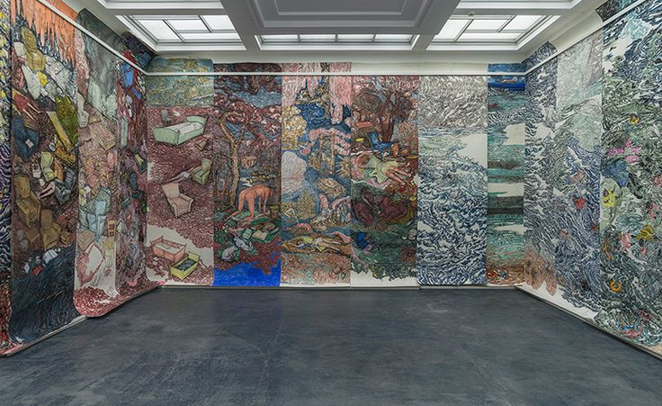 Vanessa Baird wins Norway's biggest contemporary art prize with a Technicolor tapestry of smut and gore