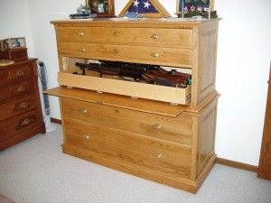 Best 25 hidden gun cabinets ideas on pinterest gun safe for Secret drawer kitchens