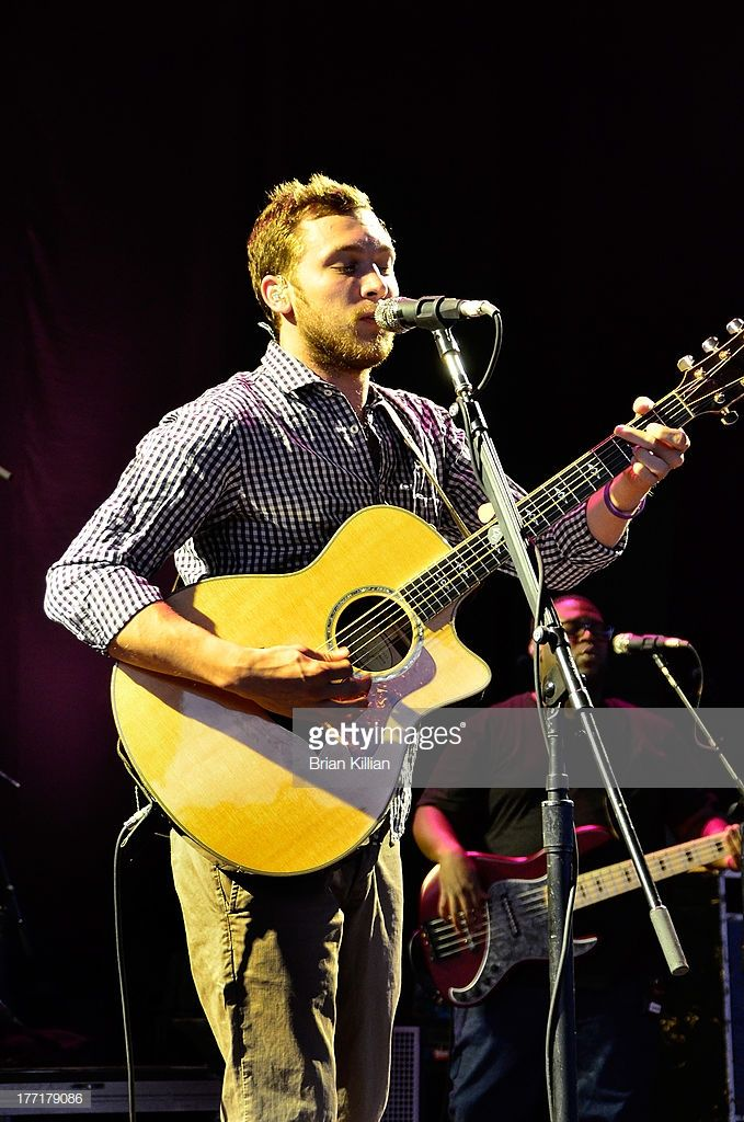 Singer Phillip Phillips performs at PNC Bank Arts Center on