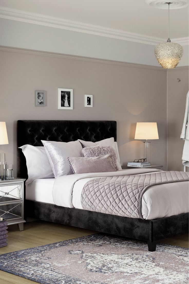 Buy Paris Bed from the Next UK online shop in 2020 Black