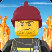 LEGO City Fire Hose Frenzy - Släck eld med slang och helikopter | Pappas Appar
